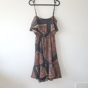 XS Le Château bohemian paisley dress